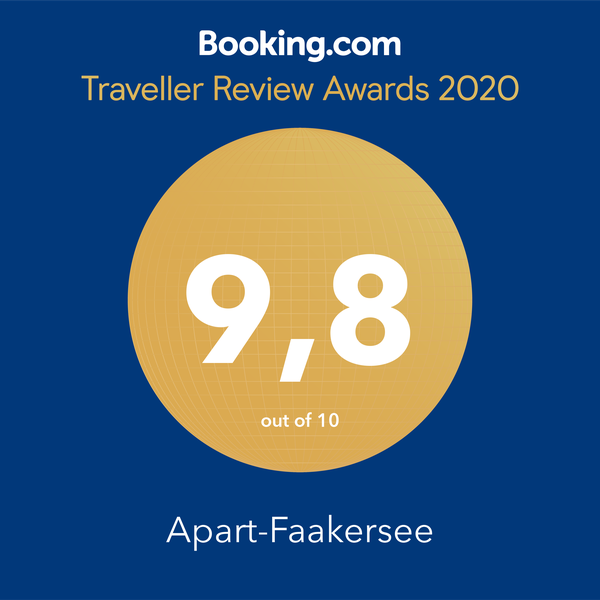 Booking.com Reward - Guest Review Awards 2018